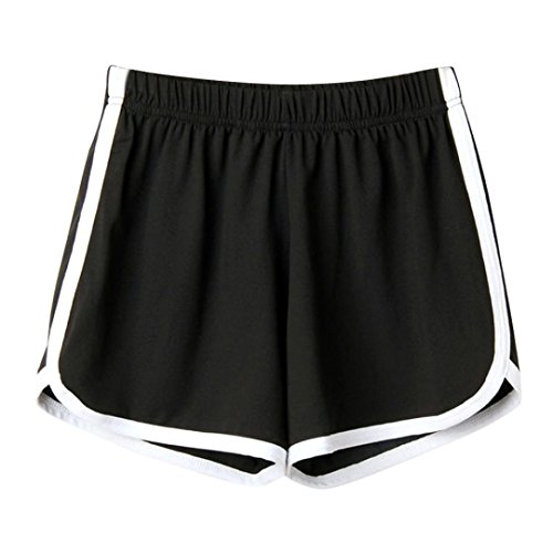 3632e77de3314d HCFKJ Shorts Damen, Frauen Dame Sommer Sport Shorts Abluftgebläse Strand  Kurze Hosen